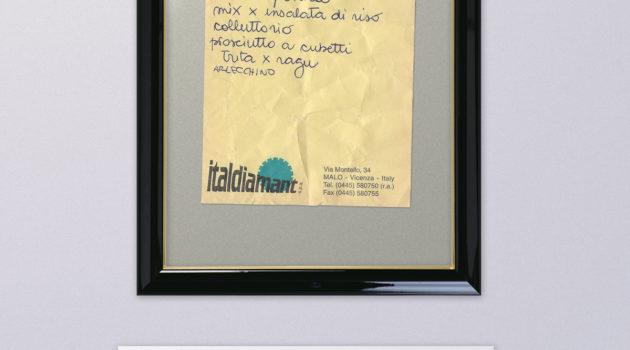 """Arte Listografica - """"Priorità Geneazionali"""""""