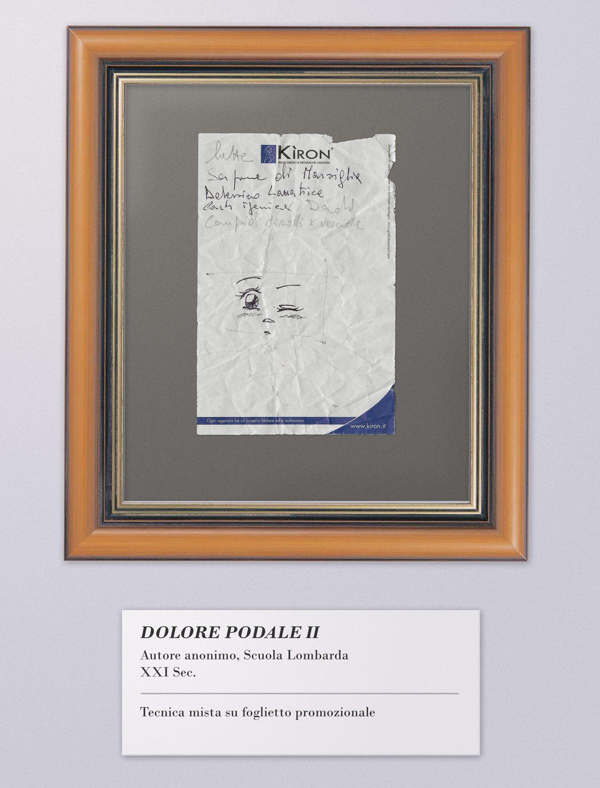 """Arte Listografica - """"Dolore Podale II"""""""